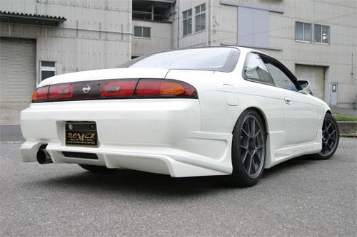 bomex s14 rear bumper