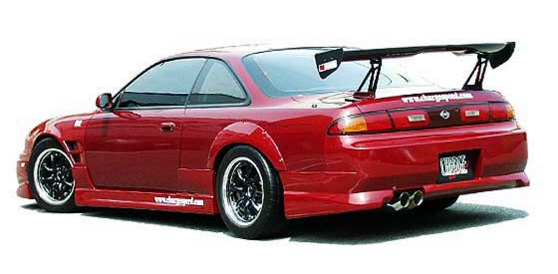 Chargespeed rear bumper s14