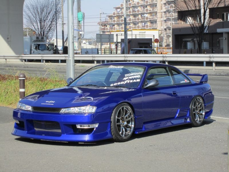 Car Modify Wonder - Glare S14 Kouki body kit